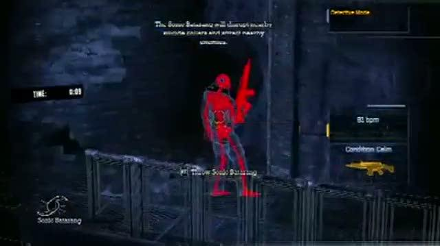 Batman Arkham Asylum Xbox 360 Guide-tip - Walkthrough Invisible Predator (Extreme) Challenge