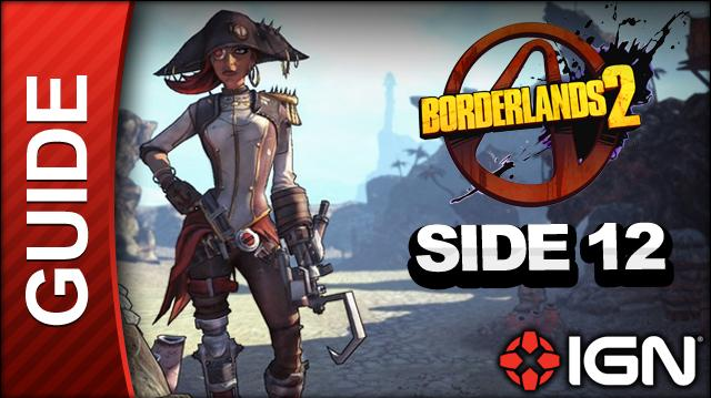 Borderlands 2 Captain Scarlett and Her Pirate's Booty DLC Walkthrough - Message in a Bottle Haytors Folly - Side Mission (Part 12)