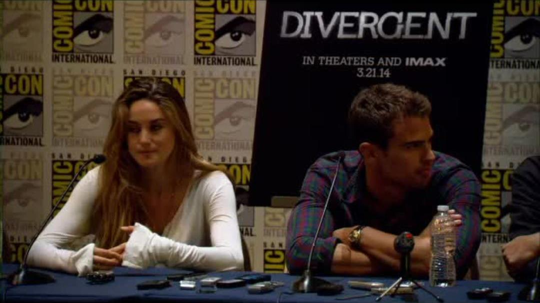 Divergent Comic-Con Press Conference Part 8
