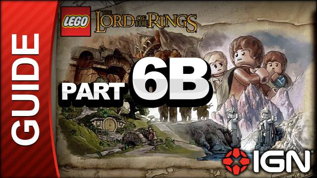 LEGO The Lord of the Rings Walkthrough Part 6B - Amon Hen
