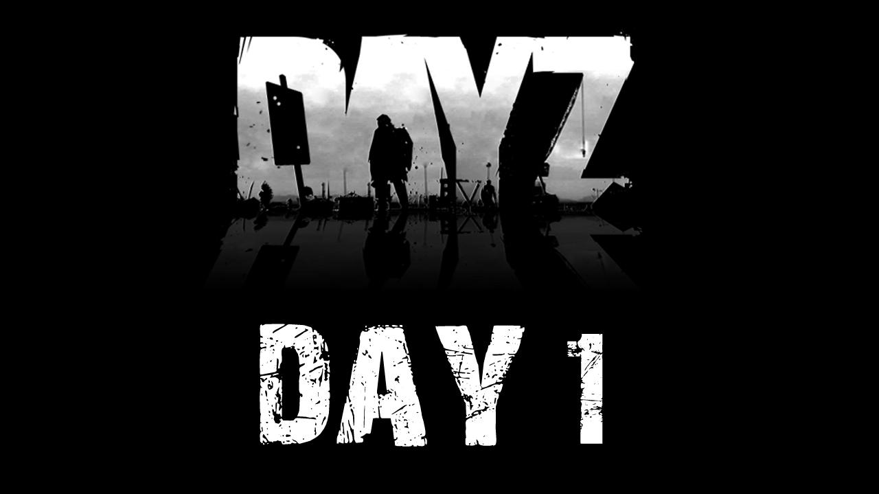 Let's Play DayZ Day 1 with Anthony and Destin - Basics, Axes, and Guns
