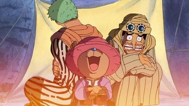 One Piece - Episode 97 - Adventure in the Country of Sand! the Monsters That Live in the Scorching Land!