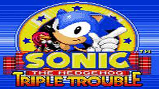 Sonic the Hedgehog Triple Trouble Trailer