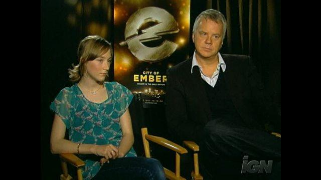 City of Ember Movie Interview - Saoirse Ronan & Tim Robbins