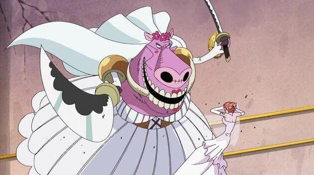 File One Piece - Episode 366 - You're Going Down, Absalom!! Nami's Lightning Attack of Friendship!!
