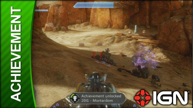 Halo 4 Achievement Mortardom (Hijack a Wraith in Mission 5)
