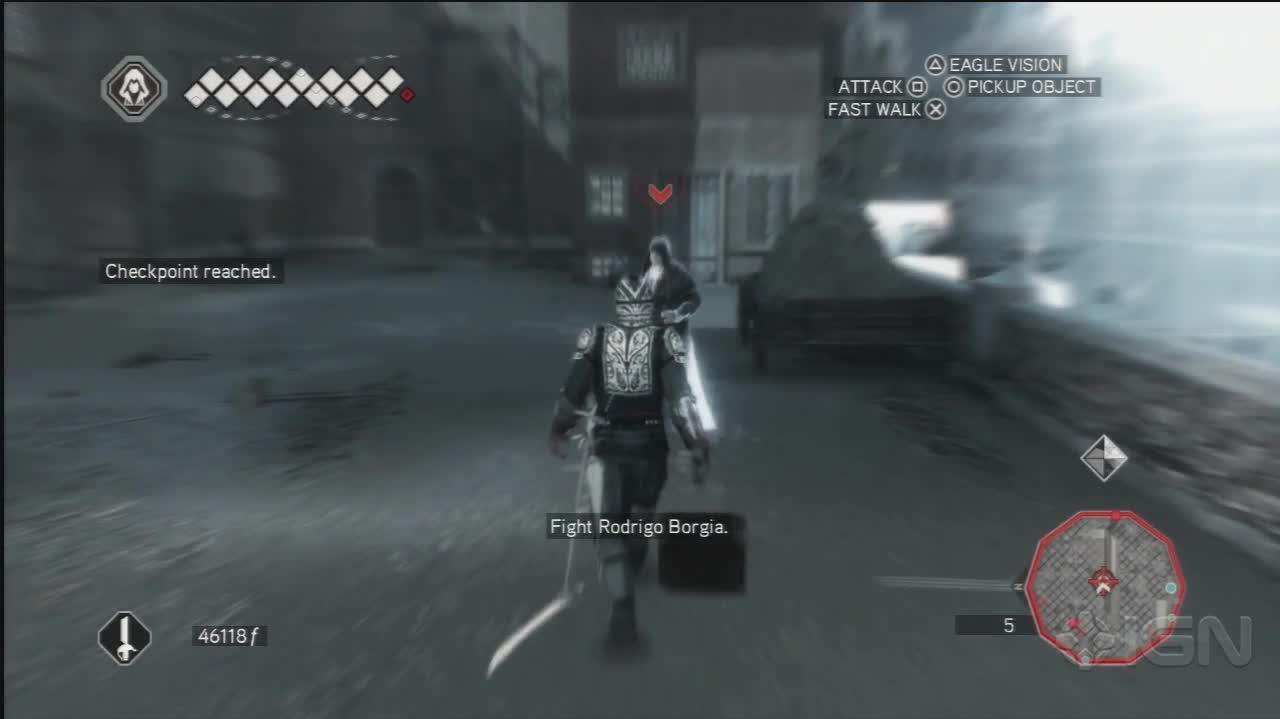 Assassins Creed 2 - Roderigo Fight - Gameplay