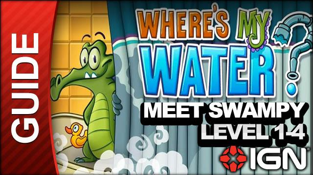 Where's My Water (iPad) - Meet Swampy - Level 1-4 Do a Sweet Jump