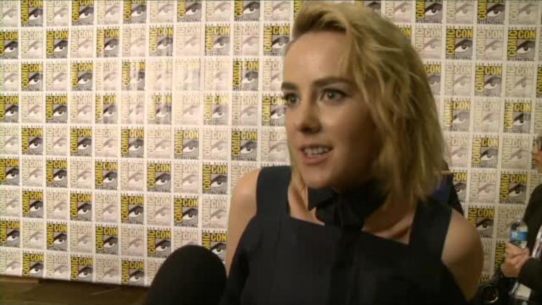 Catching Fire Comic-Con 2013 Interview - Jena Malone