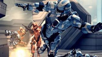 "Halo 4 Crimson Map Pack ""Shatter"" Walkthrough"