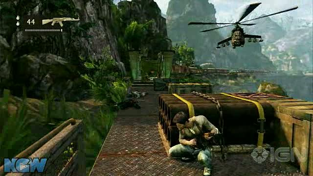Uncharted 2 Among Thieves Video Guide-Walkthrough - Ch. 13 Locomotion - Part 3