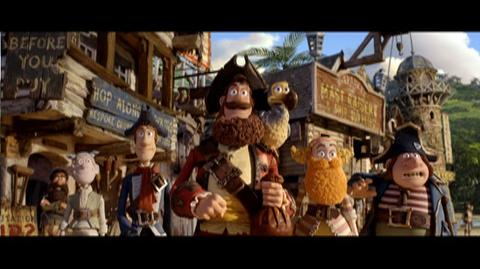 The Pirates! Band of Misfits (2012) - Theatrical Trailer for The Pirates! Band Of Misfits