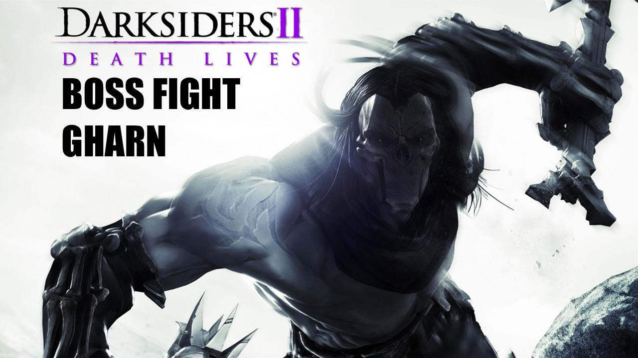 Darksiders II Boss Fight Gharn - Gameplay