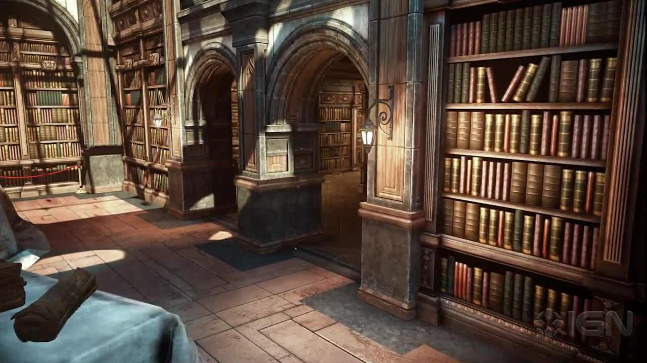 """Library"" Map Tour Gears of War Judgment"