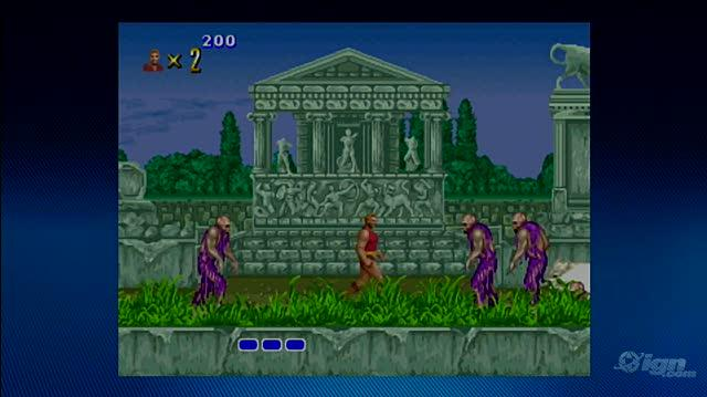 Altered Beast Xbox Live Gameplay - Rise From The Grave