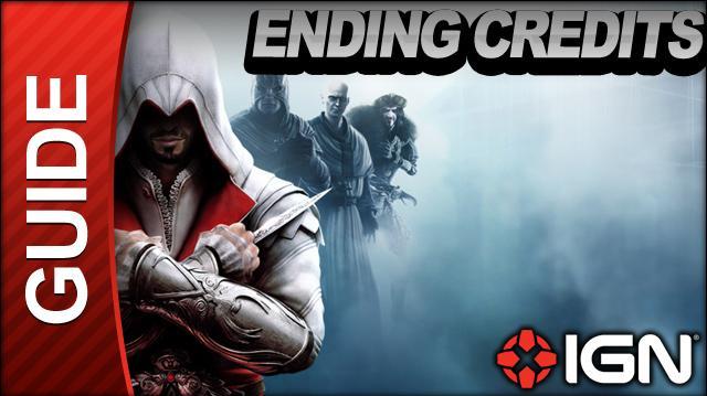 Assassin's Creed Brotherhood Walkthrough - Ending Credits