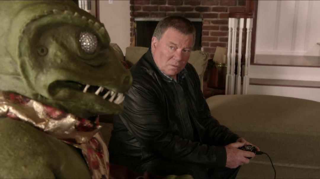 Star Trek The Video Game - Shatner versus the Gorn