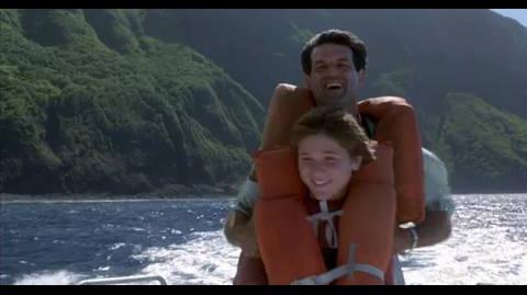 Jurassic Park III - parasailing