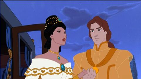 Pocahontas II Journey to a New World Special Edition 2-Movie Collection (1998) - Clip The Ball 2