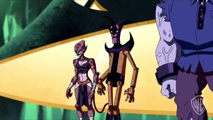 """JLA Adventures Trapped in Time - """"The Lex Plan"""" Clip 2"""