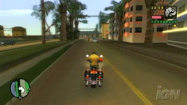 Grand Theft Auto Vice City Stories PlayStation 2 Gameplay - Hog