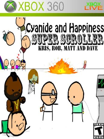 Cyandine and Happiness Super Scroller Xbox 360 Cover