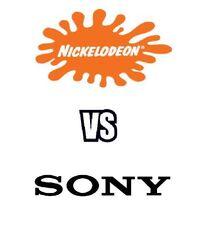 Nickelodeon vs Sony Logo