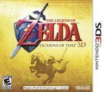 The Legend of Zelda Ocarina of Time 3D cover