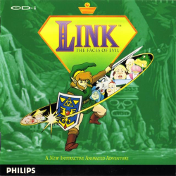 Link - The Faces of Evil (box)