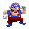 Super Smash Bros. Strife recolour - Wario 15