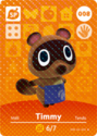 Timmy Nook - AC amiibo card