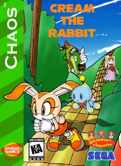 Cream the Rabbit Box Art