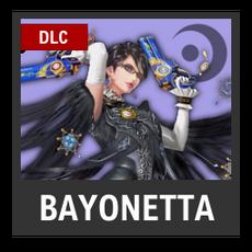 Super Smash Bros. Strife character box - Bayonetta