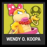 Super Smash Bros. Strife character box - Wendy O. Koopa