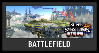 Super Smash Bros. Strife stage box - Battlefield