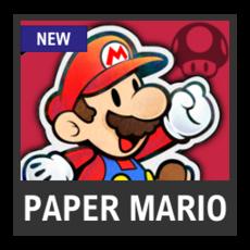 Super Smash Bros. Strife character box - Paper Mario