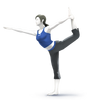 Super Smash Bros. Strife recolour - Wii Fit Trainer 6