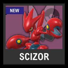 Super Smash Bros. Strife character box - Scizor