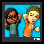 ACL Mario Kart 9 character box - Mii