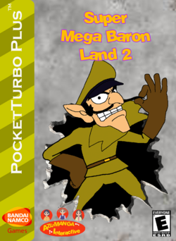 Super Mega Baron Land 2 Box Art 3