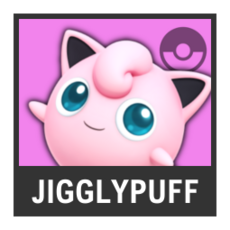 Super Smash Bros. Strife character box - Jigglypuff