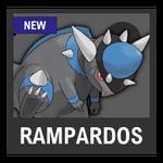 Super Smash Bros. Strife Pokémon box - Rampardos