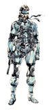 Brawl Sticker Solid Snake (MGS2 Sons of Liberty)