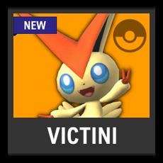 Super Smash Bros. Strife character box - Victini
