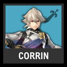 Super Smash Bros. Strife character box - Corrin