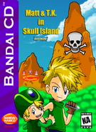 Matt and TK in Skull Island Box Art 2
