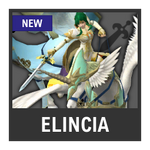 Super Smash Bros. Strife Assist box - Elincia