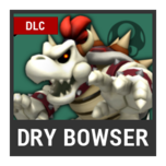 Super Smash Bros. Strife character box - Dry Bowser
