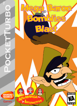 Mega Baron Bombliss Box Art