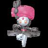 Super Smash Bros. Strife recolour - Meloetta-Pirouette 2